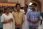 Archana Puran Singh, Krushna Abhishek, Ajay Devgan and Abhishek Bachchan in Bol Bachchan Movie Stills