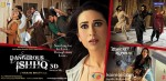 Karisma Kapoor, Rajneesh Duggal (Dangerous Ishhq Movie Poster)