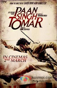 Paan Singh Tomar Review (Paan Singh Tomar Movie Poster)