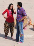 Prachi Desai, Abhishek Bachchan (Bol Bachchan Movie Stills)