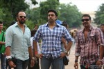 Rohit Shetty with Abhishek Bachchan and Ajay Devgan on the sets of Bol Bachchan Movie Stills