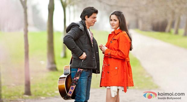 Shah Rukh Khan & Katrina Kaif First Look of Yash Chopra's Film in London