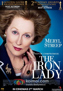 The Iron Lady Review (The Iron Lady Movie Poster)