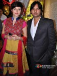 Veena Malik, Sachin Gupta At Studio 169 Launch