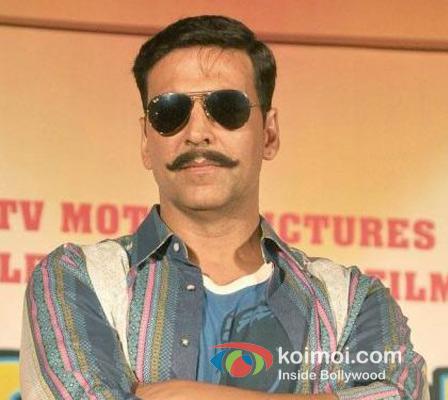 Akshay Kumar At Rowdy Rathore Music Launch