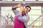 Akshay Kumar does a dance move in Rowdy Rathore Movie Stills