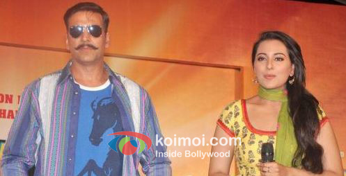 Akshay Kumar At Rowdy Rathore Music Launch