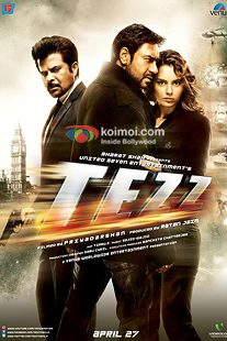 Anil Kapoor, Ajay Devgan, Kangana Ranaut Tezz Movie Review