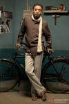 Irrfan Khan and his cycle in Billu Movie