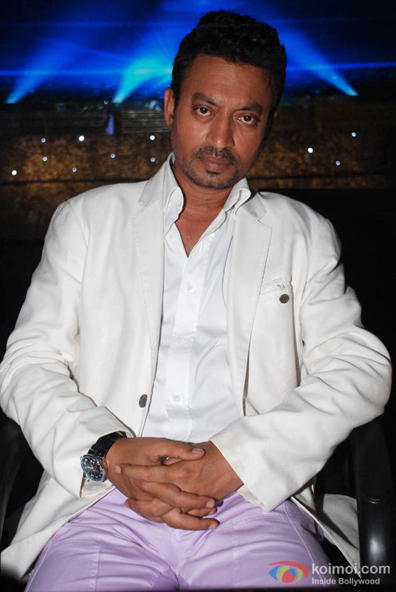 Irrfan Khan At 'Chhote Ustaad' TV Show