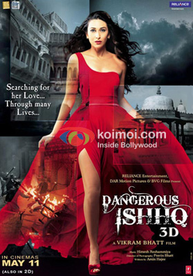 Karisma Kapoor In Dangerous Ishhq Movie Poster