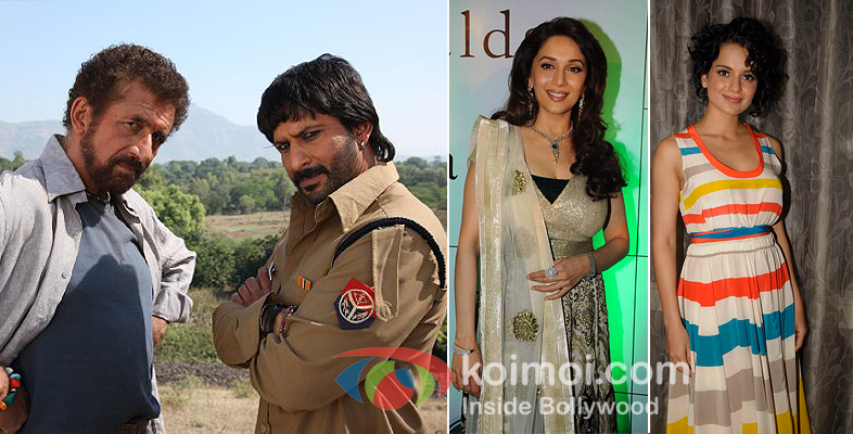 Naseeruddin Shah, Arshad Warsi, Madhuri Dixit & Kangna Ranaut will be seen together in Ishqiya.