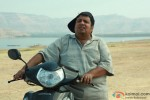 Neeraj Vora on a scooter in Kamaal Dhamaal Malamaal Movie Stills