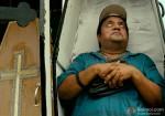 Neeraj Vora playing dead? in Kamaal Dhamaal Malamaal Movie Stills