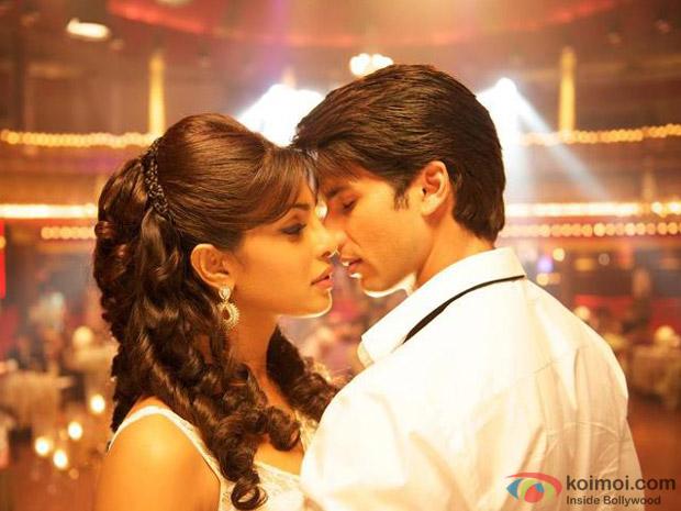Priyanka Chopra and Prachi Desai in Teri Meri Kahaani Movie Stills