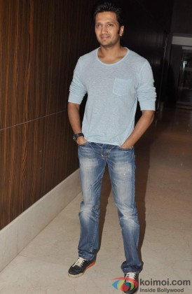 Riteish Deshmukh at the trailer launch of film Chhatrapati Shivaji Maharaj
