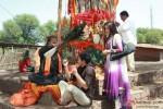 Shreyas Talpade and Madhhurima Banerjee in a scene in Kamaal Dhamaal Malamaal Movie Stills