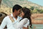 Shreyas Talpade and Madhhurima Banerjee's romantic pose in Kamaal Dhamaal Malamaal Movie Stills