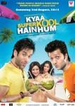 Tusshar Kapoor, Neha Sharma, Sarah Jane Dias, Riteish Deshmukh (Kyaa Super Kool Hain Hum Movie Poster)
