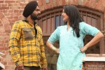What is she trying to say? – Sonakshi Sinha and Ajay Devgn in Son Of Sardar (Son Of Sardar) Movie Stills