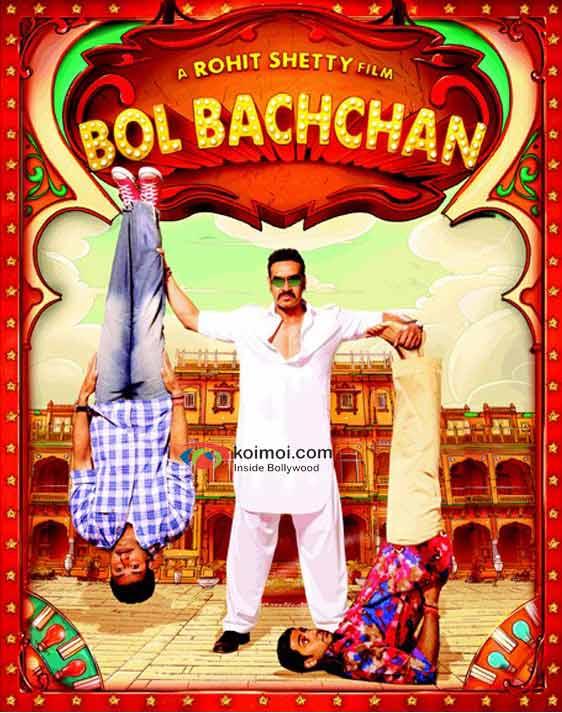 Ajay Devgan and Abhishek Bachchan In Bol Bachchan