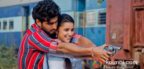 Arjun Kapoor and Parineeti Choopra In Ishaqzaade