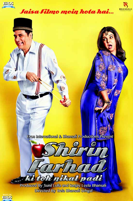 Boman Irani, Farah Khan In Shirin Farhad Ki Toh Nikal Padi First Look Poster
