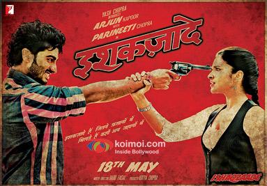 Ishaqzaade Movie Poster
