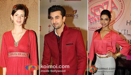 Kalki Koechlin, Ranbir Kapoor, Deepika Padukone