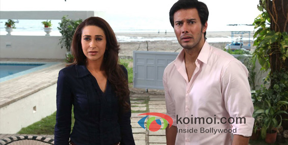 Karisma Kapoor, Rajneesh Duggal In Dangerous Ishhq Movie Strills