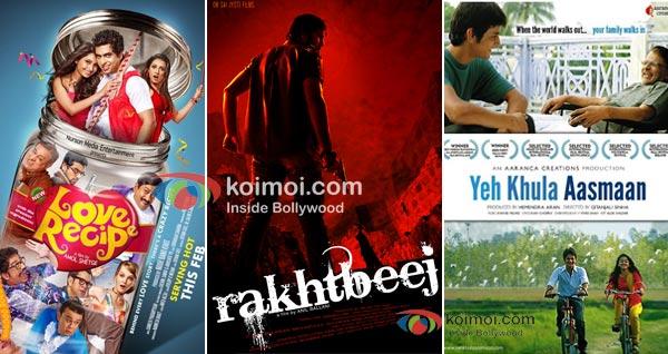 Love Recipe, Rakhtbeej, Yeh Khula Aasmaan Movie Posters