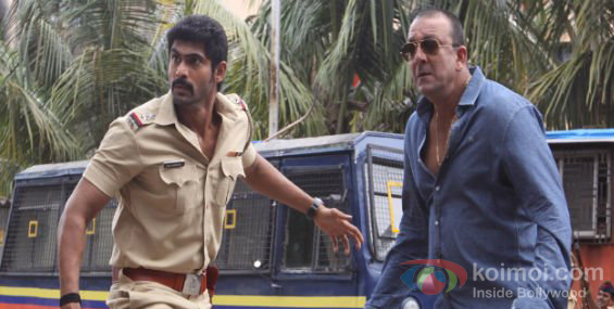 Rana Daggubati, Sanjay Dutt Department Movie Stills