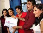 Veena Malik and Aanandbalraj at mahurat shot in Daal Mein Kuch Kaala Hai! Movie Working On Location Stills