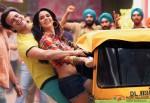 Vivek Oberoi and Mallika Sherawat with auto in Kismet (Kismat) Love Paisa Dilli (KLPD) Movie Stills