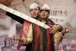 Vivek Oberoi and Mika Singh dancing to the tunes of Kismet (Kismat) Love Paisa Dilli Movie Stills