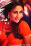A Red Saree Hot Kareena Kapoor in a scene from Halkat Jawani song in Heroine Movie Stills