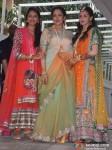 Ahana Deol, Hema Malini At Esha Deol's Mehendi Ceremony