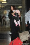 Aishwarya Rai Bachchan Snapped with Aaradhya