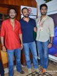 Ajay Devgn, Rohit Shetty, Abhishek Bachchan on the sets of 'Taarak Mehta Ka Ooltah Chashmah' Promote Bol Bachchan Movie