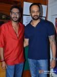 Ajay Devgn, Rohit Shetty on the sets of 'Taarak Mehta Ka Ooltah Chashmah' Promote Bol Bachchan Movie