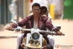 Akshay Kumar Riding A Bike with Paresh Rawal In OMG Oh My God! Movie Stills
