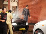 Akshay Kumar at song shooting of Oh My God movie stills