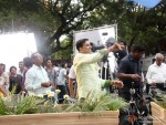Akshay Kumar in fort for song shooting of Oh My God movie stills