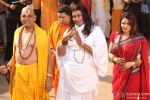Govind Namdev, Nikhil Ratnaparkhi, Mithun Chakraborty and Poonam Jhawer (Jhawar) in OMG Oh My God! Movie Stills