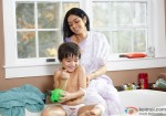 Guess who is cuter? Sridevi or the kid? English Vinglish Movie Stills