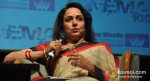 Hema Malini Speaks To The Audience At Whistling Woods