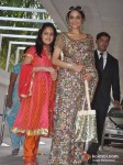 Madhoo At Esha Deol's Mehendi Ceremony