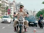 Naseeruddin Shah on a bike in Maximum Movie Stills