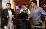 Paresh Rawal And Akshay Kumar on the sets of OMG Oh My God Movie Stills