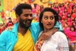 Prabhu Deva and Sonakshi Sinha in OMG Oh My God! Movie Stills